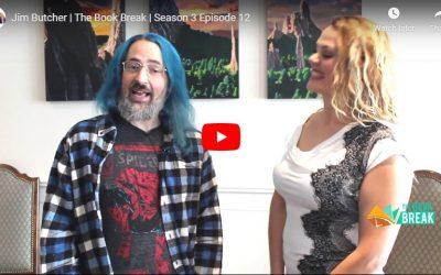 Jim Butcher | The Book Break | Season 3 Episode 12