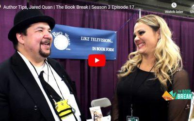 Author Tips, Jared Quan | The Book Break | Season 3 Episode 17