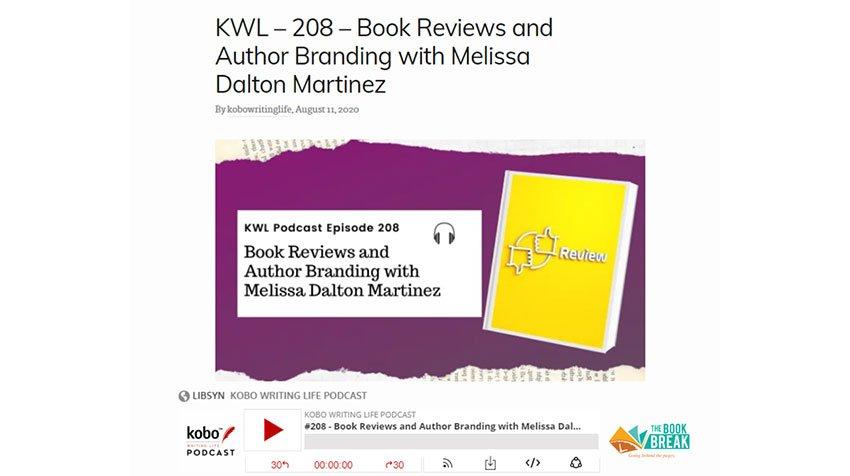 Writing Life Podcast – Book Reviews & Author Branding