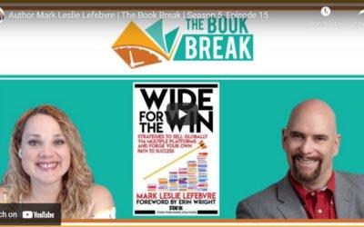 Author Mark Leslie Lefebvre | The Book Break | Season 5, Episode 15