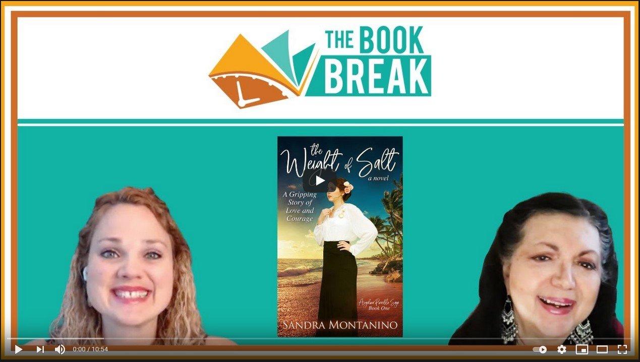 Author Sandra Montanino | The Book Break | Season 5, Episode 14