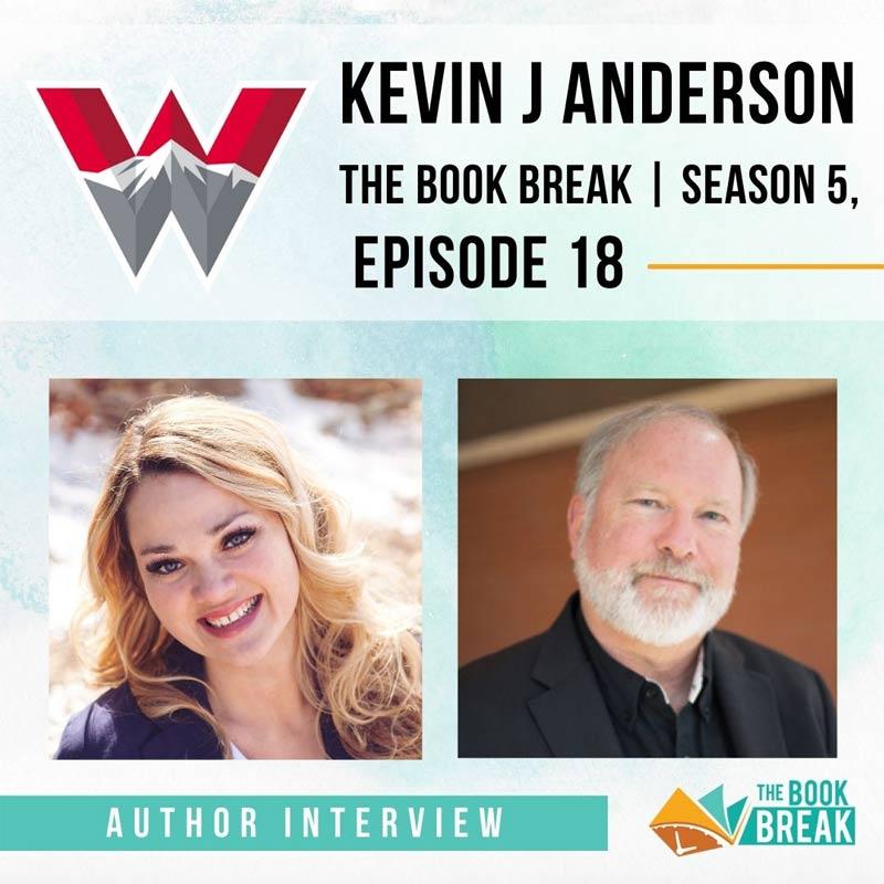 Author Kevin J Anderson | The Book Break | Season 5, Episode 18