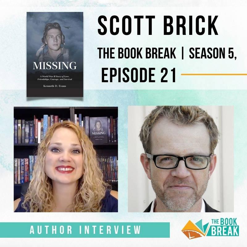 Narrator Scott Brick | The Book Break | Season 5, Episode 21